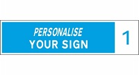 personalise - new - blue