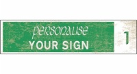 personalise - old - Green