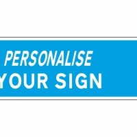 personalise sign - new look